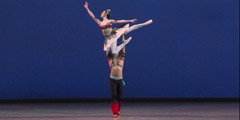 Pas d'esclave from the ballet Le Corsaire<br> Valeria MARTYNYUK and Karen IOANNISYAN