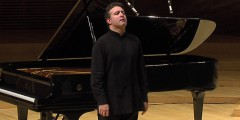 Alexei Volodin performing Chopin<br>